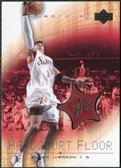 2003/04 Upper Deck Hardcourt Floor #AIF Allen Iverson