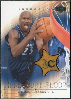 2003/04 Upper Deck Hardcourt Floor #MJF Michael Jordan