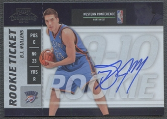 2009/10 Playoff Contenders #121 B.J. Mullens Rookie Auto