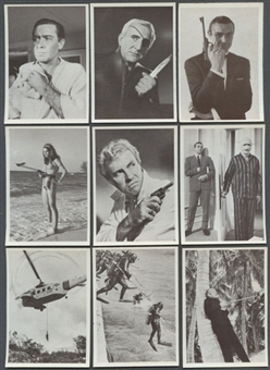 James Bond Starter Set (1966 Philadelphia) (EX-MT Condition)