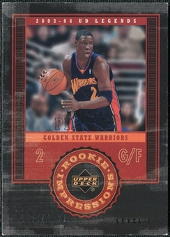 2003/04 Upper Deck Legends #121 Mickael Pietrus /1999