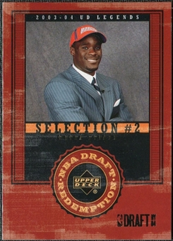 2003/04 Upper Deck Legends #137 Emeka Okafor XRC