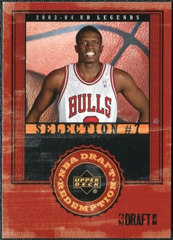 2003/04 Upper Deck Legends #142 Luol Deng XRC