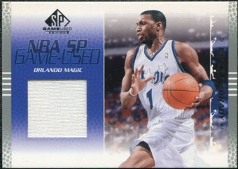 2003/04 Upper Deck SP Game Used #65 Tracy McGrady Jersey