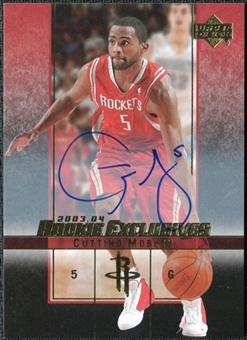 2003/04 Upper Deck Rookie Exclusives Autographs #A49 Cuttino Mobley Autograph
