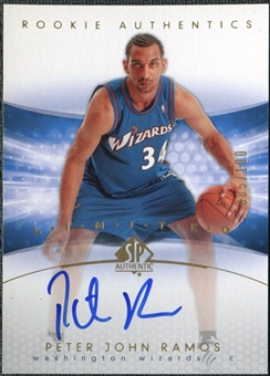 2004/05 Upper Deck SP Authentic Limited #156 Peter John Ramos Autograph /100