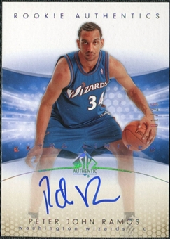 2004/05 Upper Deck SP Authentic Limited Extra #156 Peter John Ramos RC Autograph /25