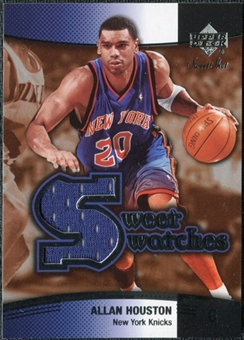 2004/05 Upper Deck Sweet Shot Swatches #AH Allan Houston