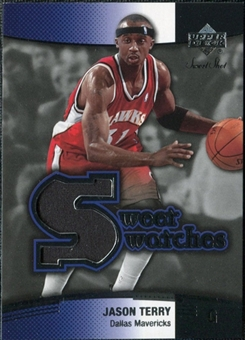 2004/05 Upper Deck Sweet Shot Swatches #JT Jason Terry
