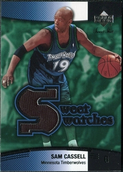 2004/05 Upper Deck Sweet Shot Swatches #SC Sam Cassell