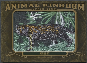 2011 Upper Deck Goodwin Champions #AK63 Margay Animal Kingdom Patch