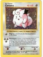 Pokemon Base Set 1 Single Clefairy 5/102 - Shadowless