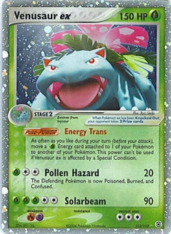 Pokemon Fire Red Leaf Green Single Venusaur ex 112/112