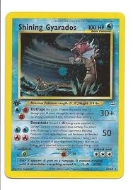 Pokemon Neo Revelations 1st Edition Single Shining Gyarados 65/64