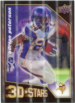 2009 Upper Deck 3D Stars #3D2 Adrian Peterson