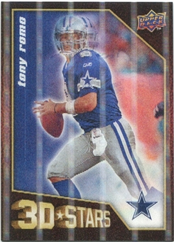 2009 Upper Deck 3D Stars #3D11 Tony Romo