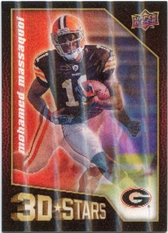 2009 Upper Deck 3D Stars #3D49 Mohamed Massaquoi