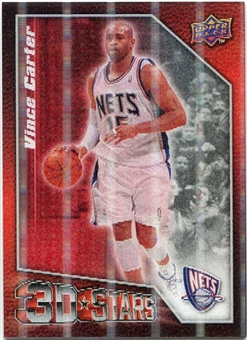 2009/10 Upper Deck 3D NBA Stars #3DVC Vince Carter