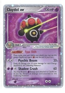 Pokemon Power Keepers Single Claydol ex 93/108