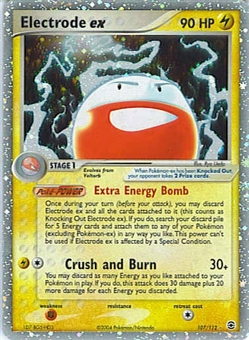 Pokemon Fire Red Leaf Green Single Electrode ex 107/112
