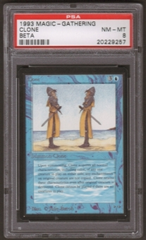 Magic the Gathering Beta Single Clone PSA 8