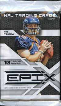 2010 Panini Epix Football Retail Pack
