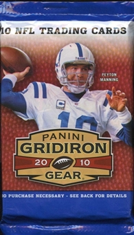 2010 Panini Gridiron Gear Football Retail 24-Pack Lot