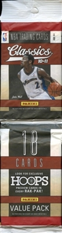 2010/11 Panini Classics Basketball Value Pack Lot (24 Packs)