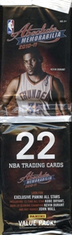 2010/11 Panini Absolute Memorabilia Basketball Value Pack Lot (24 Packs)
