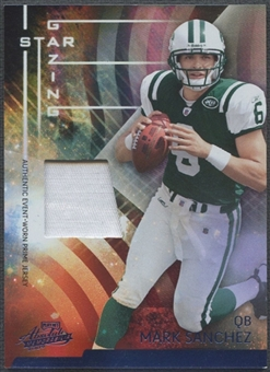 2009 Absolute Memorabilia #24 Mark Sanchez Star Gazing Materials Prime Patch #38/50