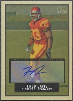 2009 Topps Magic #119 Fred Davis Auto