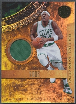 2010/11 Panini Gold Standard #19 Paul Pierce Gold Rings Materials Jersey #014/299