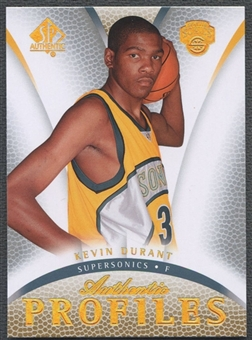 2007/08 SP Authentic #AP13 Kevin Durant Profiles