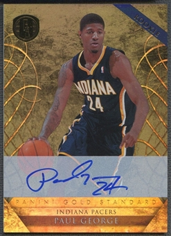 2010/11 Panini Gold Standard #222 Paul George Rookie Auto #115/299