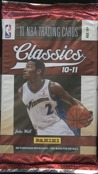2010/11 Panini Classics Basketball Retail Pack