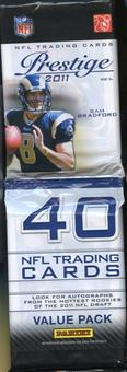 2011 Panini Prestige Football Retail Rack Pack