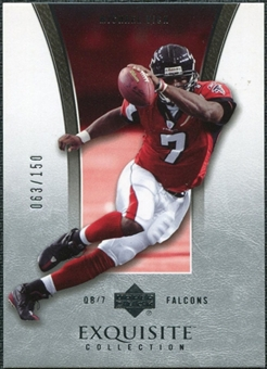 2005 Upper Deck Exquisite Collection #2 Michael Vick /150