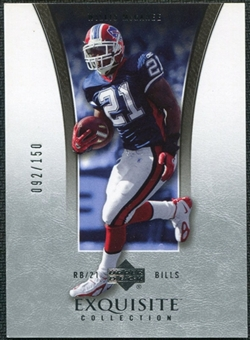 2005 Upper Deck Exquisite Collection #5 Willis McGahee /150