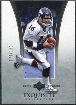 2005 Upper Deck Exquisite Collection #11 Jake Plummer /150