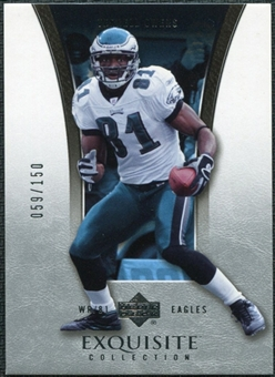2005 Upper Deck Exquisite Collection #31 Terrell Owens /150
