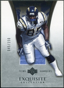 2005 Upper Deck Exquisite Collection #36 Antonio Gates /150