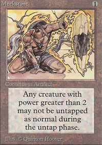 Magic the Gathering Alpha Single Meekstone - NEAR MINT (NM)