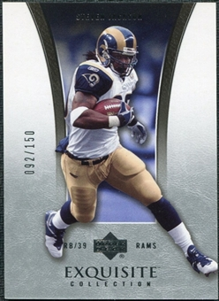 2005 Upper Deck Exquisite Collection #40 Steven Jackson /150