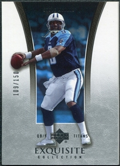 2005 Upper Deck Exquisite Collection #41 Steve McNair /150