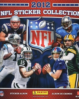 2012 Panini NFL Football Sticker Album