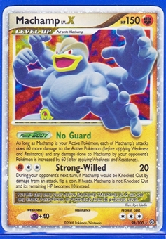 Pokemon Sandstorm Single Machamp lv. X 98/100