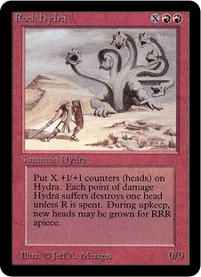 Magic the Gathering Alpha Single Rock Hydra - NEAR MINT (NM)