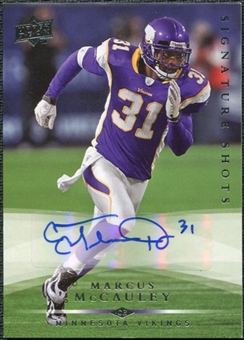 2008 Upper Deck Signature Shots #SS57 Marcus McCauley Autograph