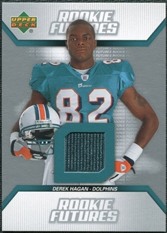 2006 Upper Deck Rookie Futures Jerseys #RFDH Derek Hagan