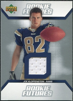 2006 Upper Deck Rookie Futures Jerseys #RFJK Joe Klopfenstein